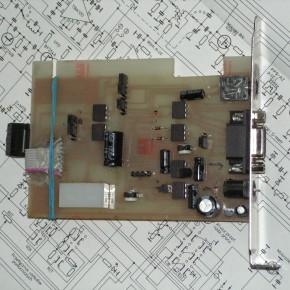 Interface do łączności cyfrowych DIGI MODE na transoptorach
